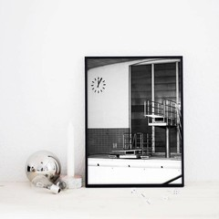 Coco Lapine Design Poster Berlin Swim 30x40 cm