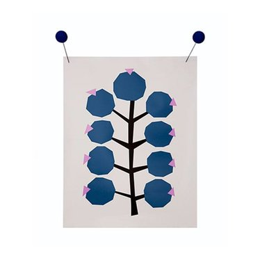 Darling Clementine Poster Berries