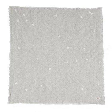 Ferm Living Teepee blanket grey