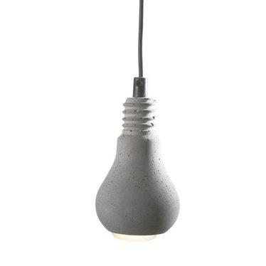 Tove Adman Edison concrete lamp with plastic cord