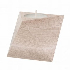 Ferm Living tealight holder Cube maple
