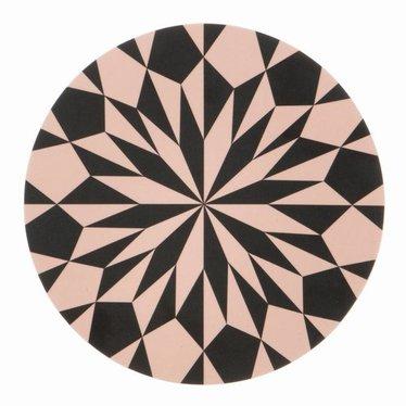 Ferm Living Plankje / onderzetter Star rose