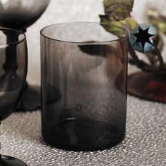 Giarimi Design glas Feast Graphite grafietgrijs