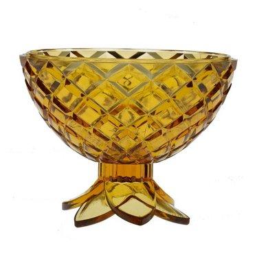 Giarimi Design Caribbean Cocktail 'Pineapple Bowl' serveerschaaltje, geel