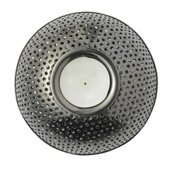 Louise Roe tealight holder Holger gun metal