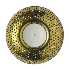 Louise Roe tealight holder Hilda brass