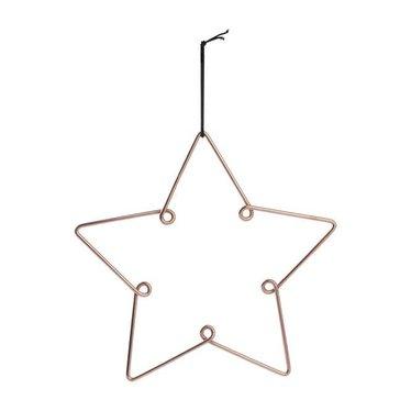 Louise Roe Star ornament copper size L