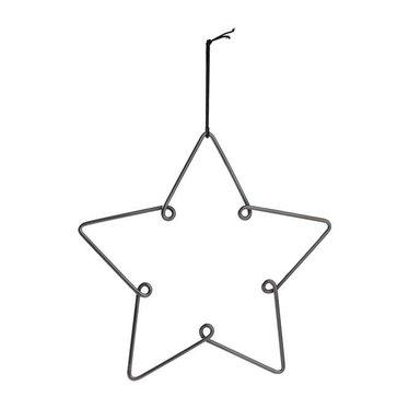 Louise Roe Star ornament gun metal maat L