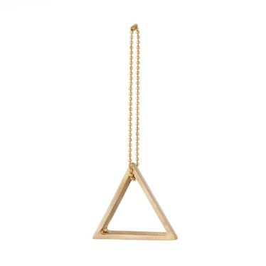 Ferm Living Brass ornament Triangle