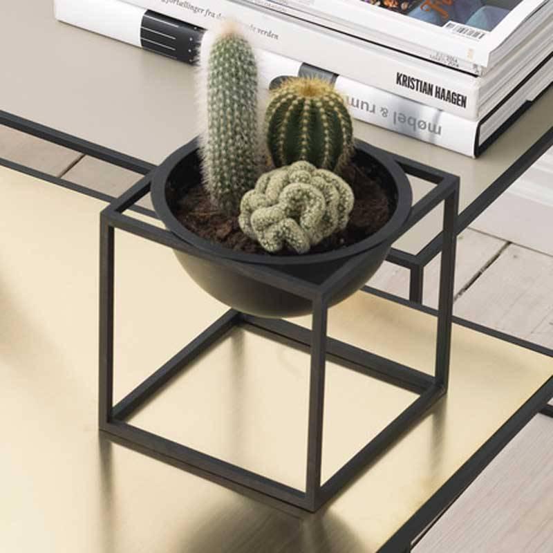 kubus bowl small zwart nordic blends. Black Bedroom Furniture Sets. Home Design Ideas
