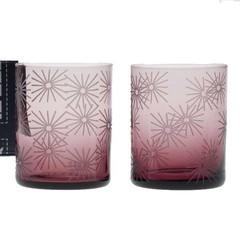 Giarimi Design glazen Feast Light Ametyst licht paars