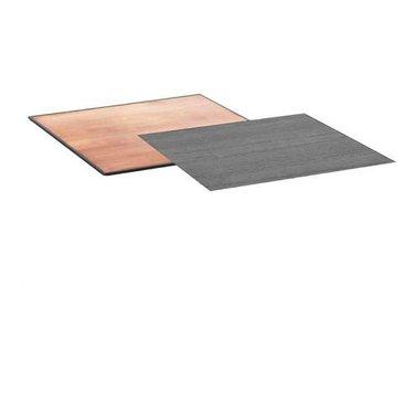 By Lassen Los tafelblad Twin table koper-zwart