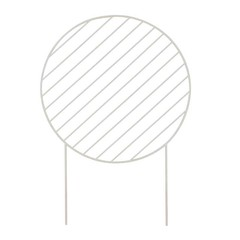 Ferm Living Plant Wall Circle grey