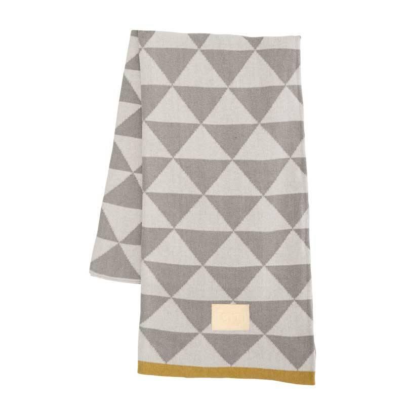 plaid remix grijs mosterdgeel nordic blends. Black Bedroom Furniture Sets. Home Design Ideas