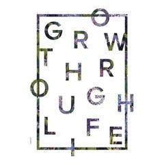 I Love My Type kaart Grow Through Life A5