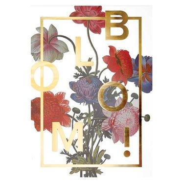 I Love My Type Poster Bloom! Power Flower