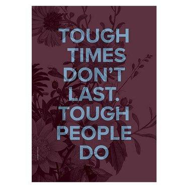 I Love My Type kaart Tough People A5