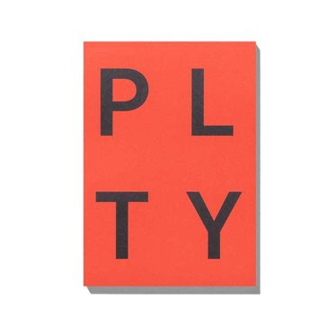 Playtype PLTY Notitieblok rood
