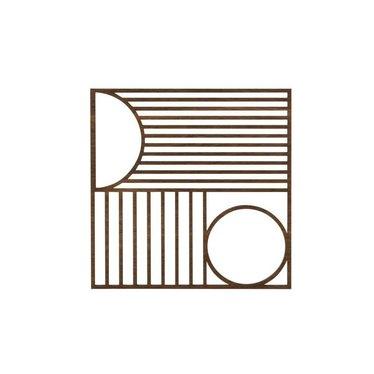 Ferm Living Wooden coaster Outline square