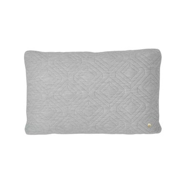 Ferm Living Light grey cushion 60 x 40 cm