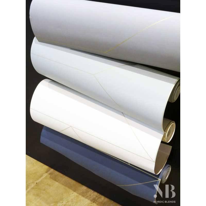 ferm living behang lines off white sale nordic blends. Black Bedroom Furniture Sets. Home Design Ideas