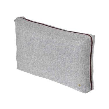 Ferm Living Wool Cushion light grey 60x 40 cm