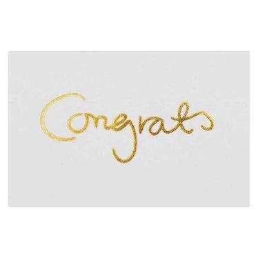 I Love My Type mini kaartje Congrats