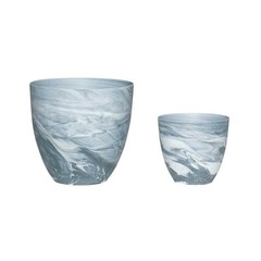 Hubsch Twilight pots, 2 pieces