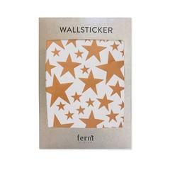 Ferm Living muurstickers Mini Stars sterren koper