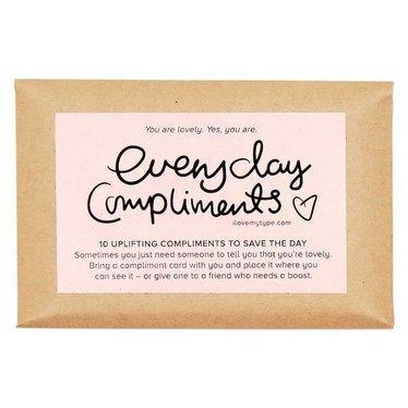I Love My Type Compliment Cards (10 verschillende)