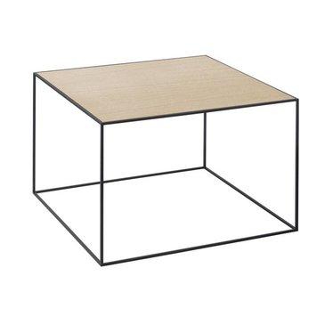 By Lassen Twin 49 table wit-eiken