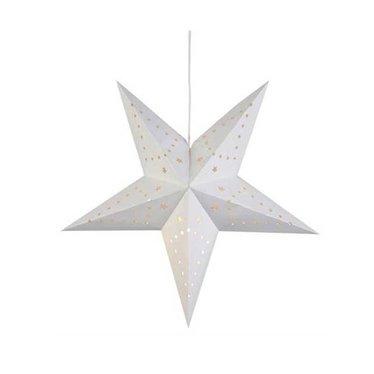 Markslöjd kerstster Mikke wit 45 cm