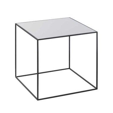 By Lassen bijzettafel Twin 42 table black-cool gray