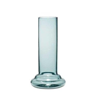 Hubsch Cylinder vase smoke glass 21 cm