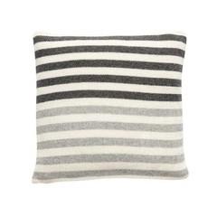 Hubsch woolen pillow with stripes