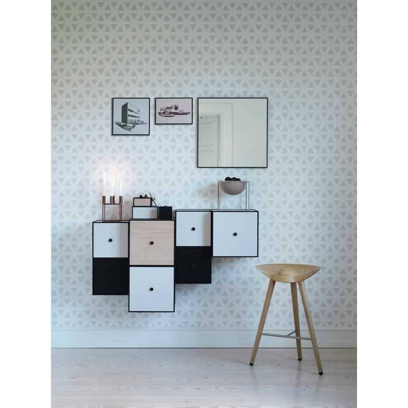 by lassen view spiegel 56x56 zwart kopen nordic blends. Black Bedroom Furniture Sets. Home Design Ideas