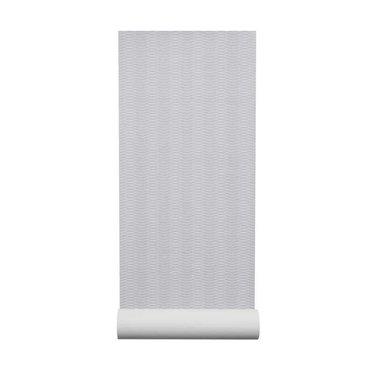 By Lassen Liinus behang | grijs-witte lijnen