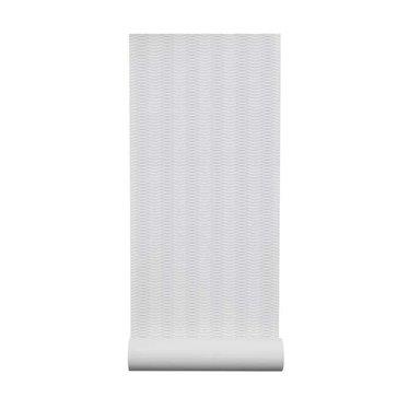 By Lassen Liinus behang | wit-grijze lijnen