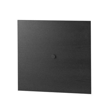 By Lassen Frame 49 deur - black stained ash