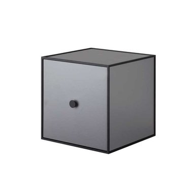By Lassen Frame 28 kast met deur - dark grey