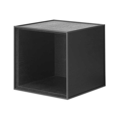 By Lassen Frame 28 cabinet - black stained ash