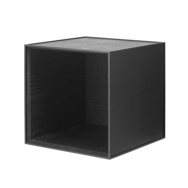 By Lassen Frame 35 kast - black stained ash