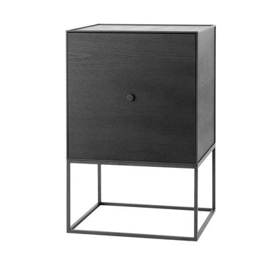 By Lassen Frame 49 Sideboard met deur - black stained ash