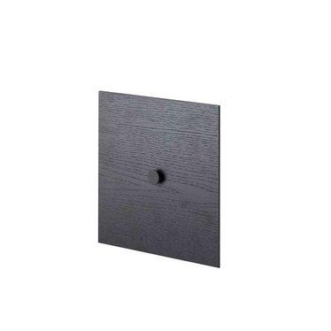 By Lassen Frame 28 deur - black stained ash