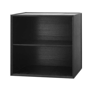 By Lassen Frame 49 kast - black stained ash