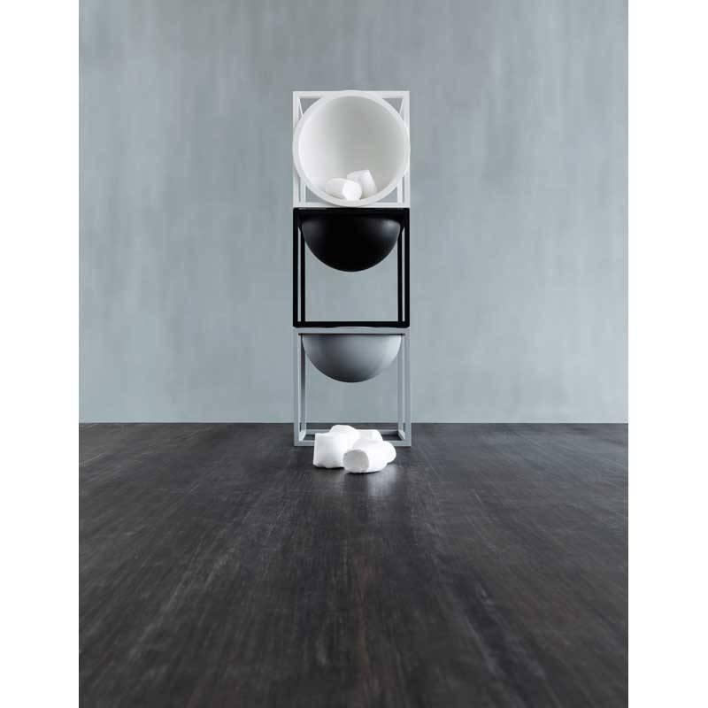 witte schaal kubus bowl small van by lassen kopen nordic blends. Black Bedroom Furniture Sets. Home Design Ideas