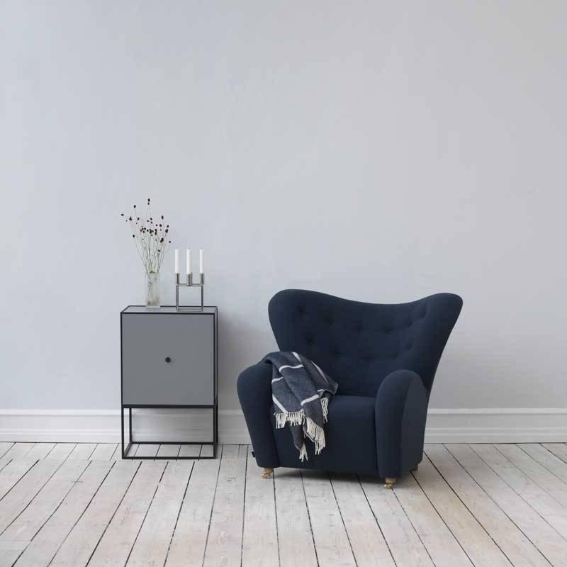 Frame 49 Sideboard Met Deur Dark Grey Nordic Blends