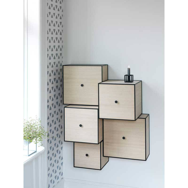 kandelaar kubus 1 zwart nordic blends. Black Bedroom Furniture Sets. Home Design Ideas