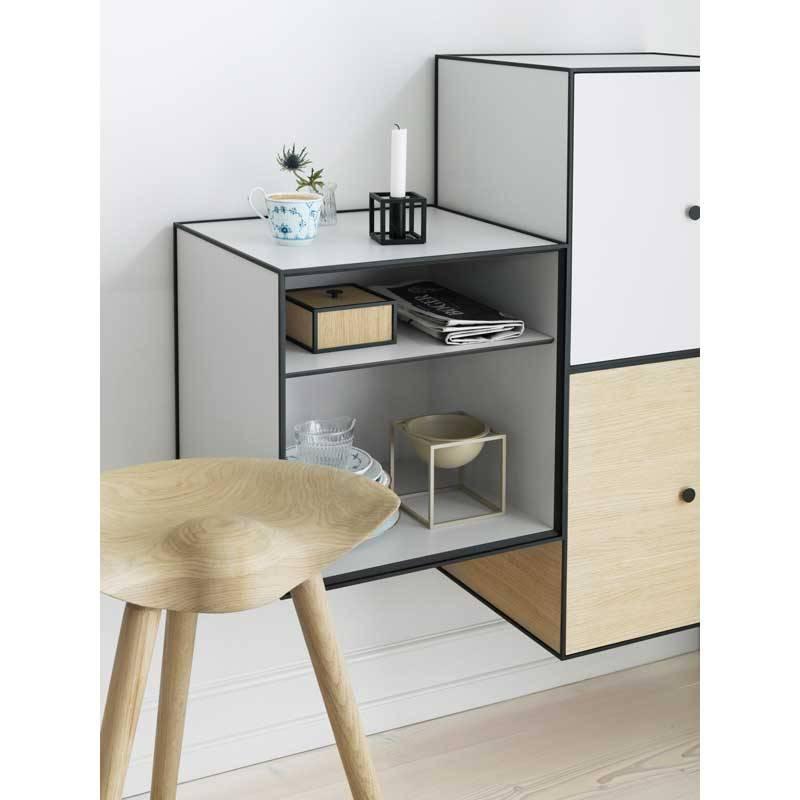 kandelaar kubus 1 zwart nordic blends. Black Bedroom Furniture Sets. Home Design Ideas
