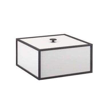 By Lassen Frame 20 opbergbox - light grey